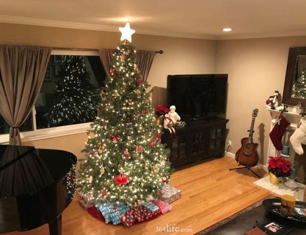 Christmas tree. Tis the season to give.