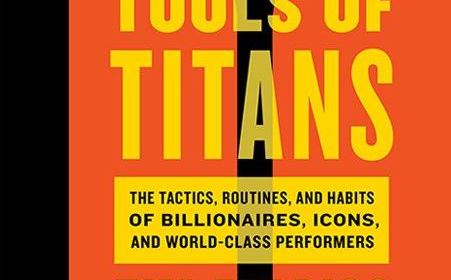 Tools of Titans book