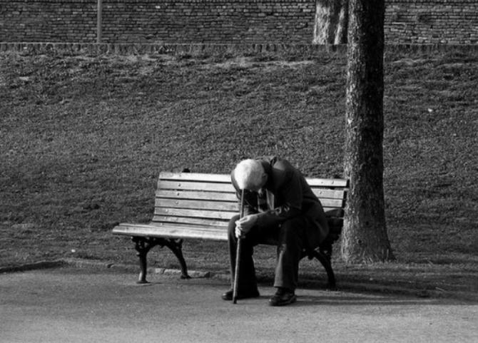 Single lonely man